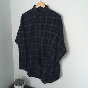 Vintage black and purple polo Ralph Lauren shirt